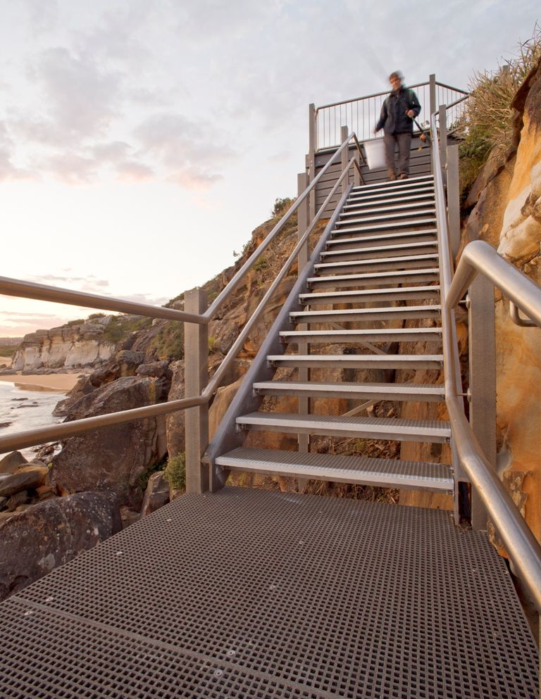 north curl curl access stairs
