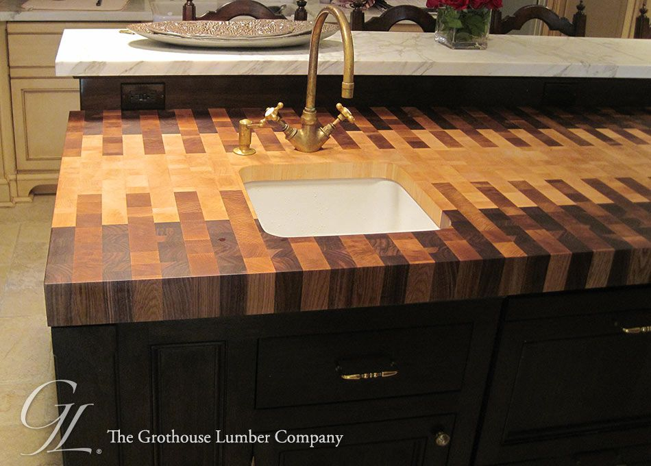 Pin by Grothouse on Butcher Block Countertops with Sinks