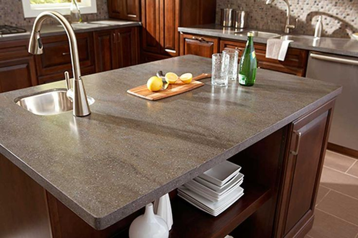 This Is Our Corian Lava Rock Countertops They Cost Us 3611