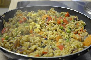 Stuff and Spice: Egg Fried Rice
