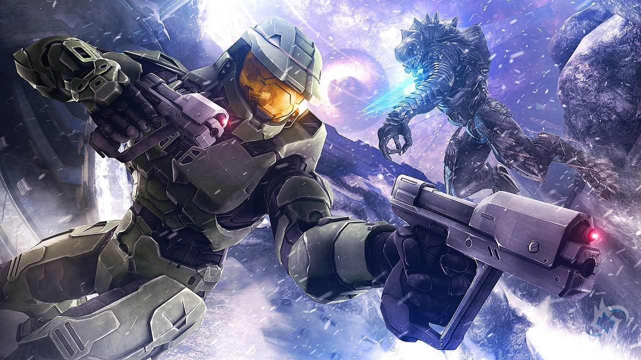 Believe Pixelflare S Take On The Halo 3 Anniversary That Never Happened X Halo 3 Halo Video Game Master Chief