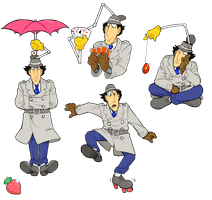 Gadget 2 By Gyrfalcon65 On Deviantart Inspector Gadget Deviantart Cartoon