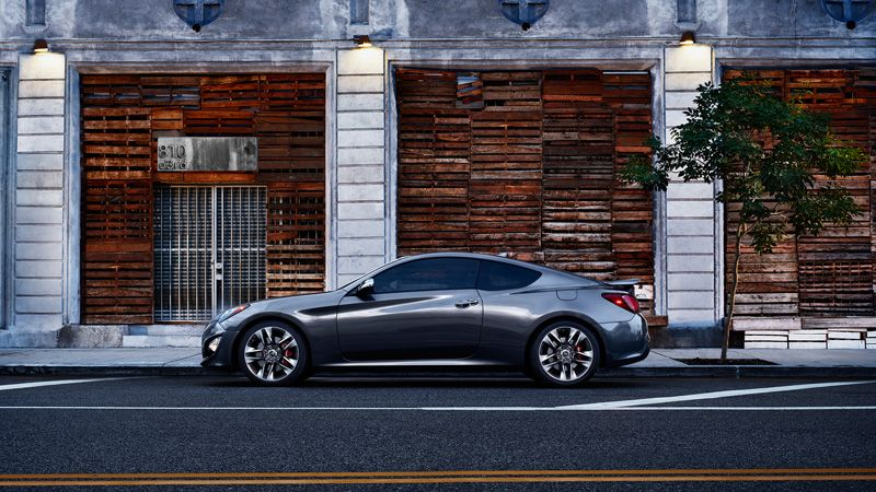 2013 genesis coupe 3 8 track in gran premio gray yes for Too hot motors tucson
