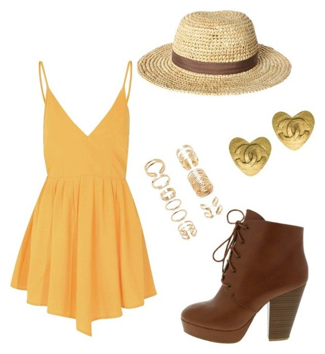 """""""summer time"""" by brandi-harmon on Polyvore featuring Glamorous, O'Neill, Forever 21, Chanel, women's clothing, women's fashion, women, female, woman and misses"""