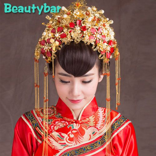 6230 Traditional Chinese bridal Tiara
