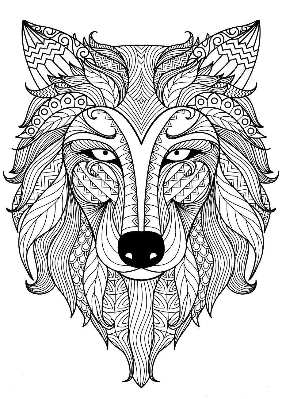 32 Fantastisch Ausmalbild Wolf - Malvorlagen Ideen