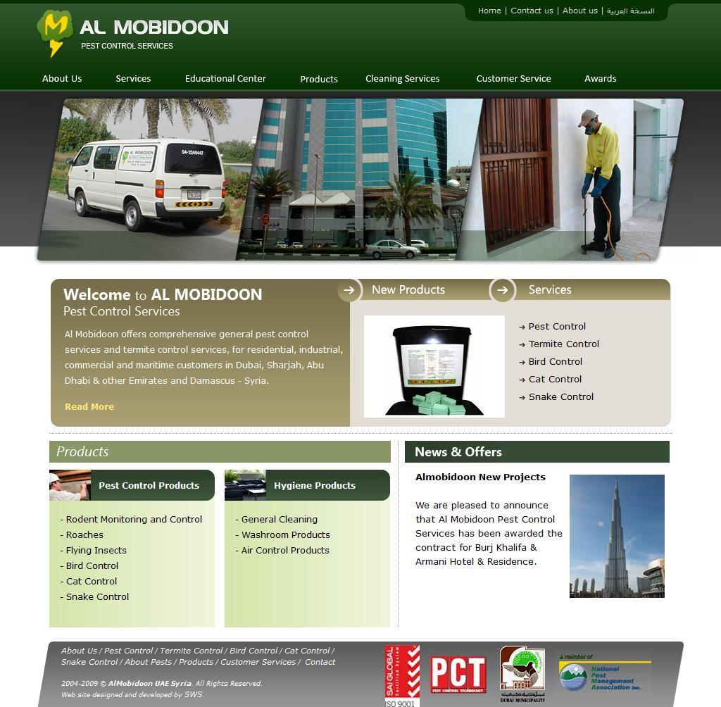 Al Mobidoon Trading Llc Pest Control Service Company Emirates Concorde 36 1 Al Maktoum Road 10 Floor With Images Companies In Dubai Pest Control Services Service Awards
