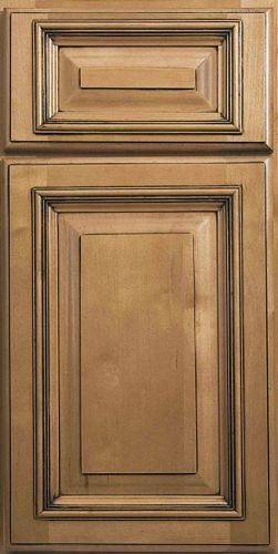 Best Savannah Solid Maple Full Overlay Raised Square Undermount 400 x 300