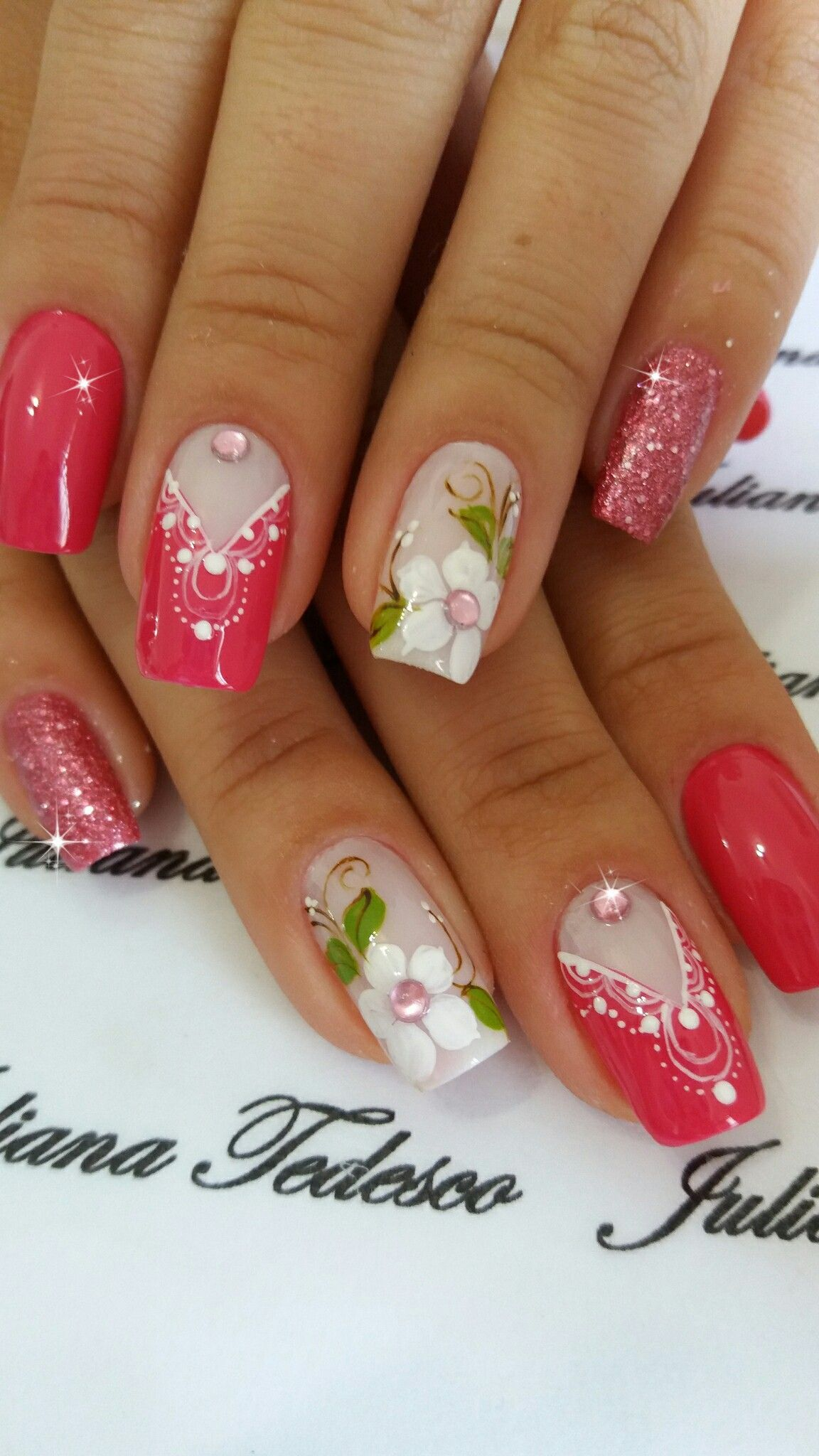 Uñas Semipermanentes Decoradas Beautiful Nail Art Unhas Artes De Unhas Unhas