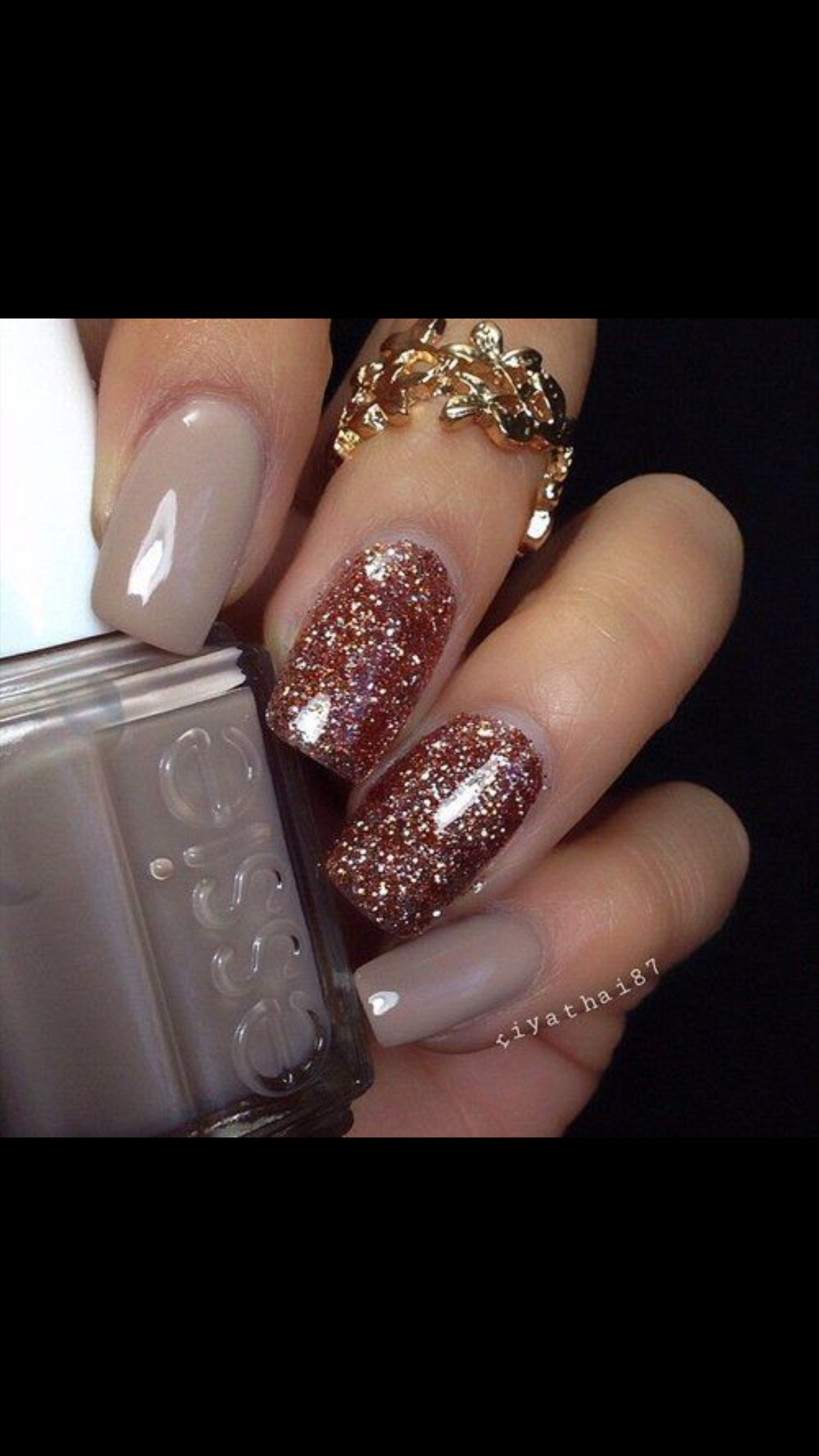 Pin by Hope Blankenship-Endicott on Red and Brown Nails | Pinterest ...