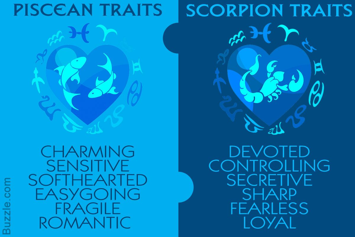 Love Compatibility Between A Pisces Man And A Scorpio Woman Pisces Man