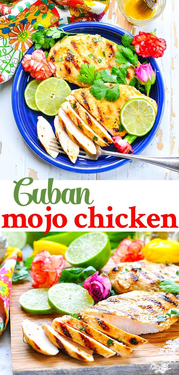 Quick and Easy Cuban Mojo Chicken