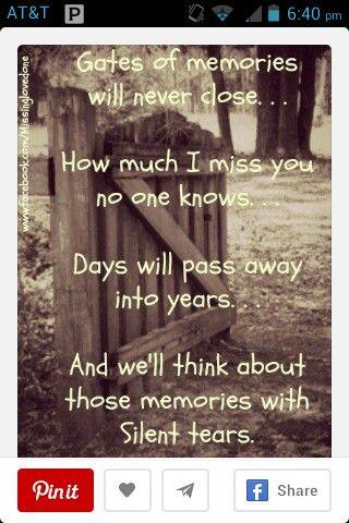Sad,we'll be ok,missing you