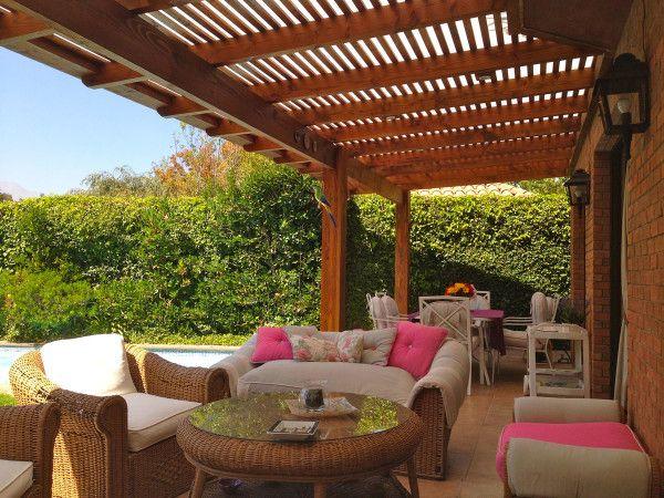 Techos para terrazas pergolas de madera pinterest techos para terrazas terrazas y - Pergolas de terraza ...