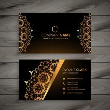 Business Business Card Abstract Card Template Presentation