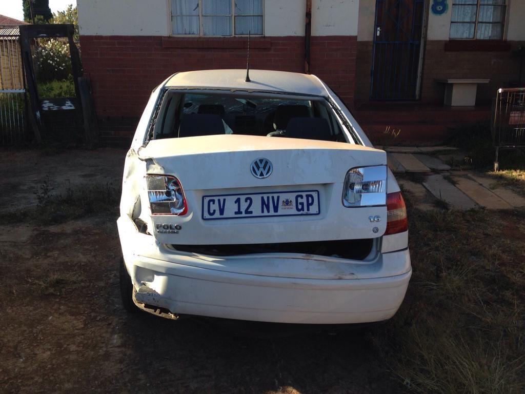 Munoj Bridgmun On Twitter Gauteng Charger Car Damaged Cars