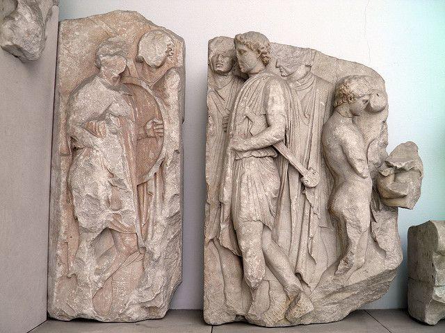 Telephos Frieze South Wall Pergamon Altar Pergamon Museum Berlin Arte Arte Greca Arte Antico
