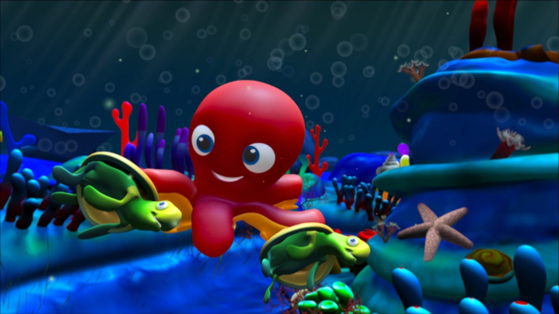 En El Fondo Del Mar Canciones Y Clásicos Infantiles Spanish Language Arts Sea Animals Animals