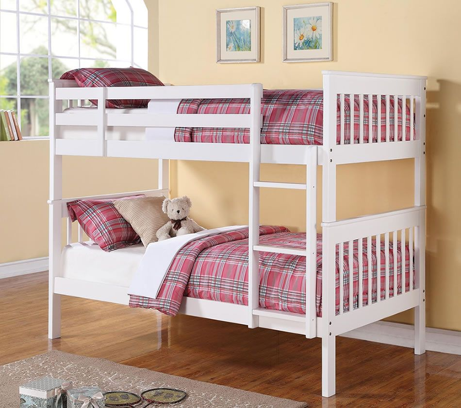 Twin full size loft bed for kids at different colors for