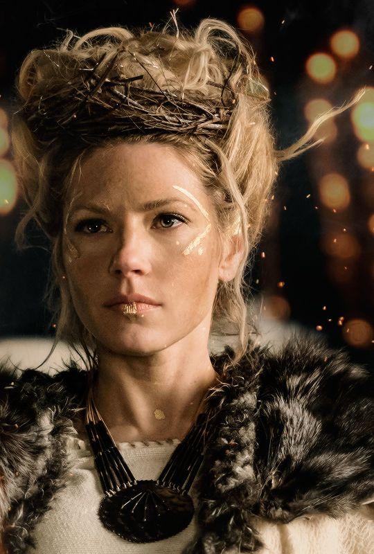 Relativ Lagertha (Vikings) | Vikings : l'âme des guerriers | Pinterest  YF73