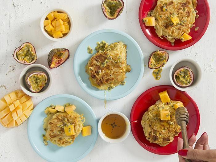 أعشاش التوست الفرنسي من الشعرية بنكهة البرتقال Recipes Food Breakfast