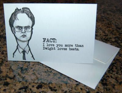 the office cards