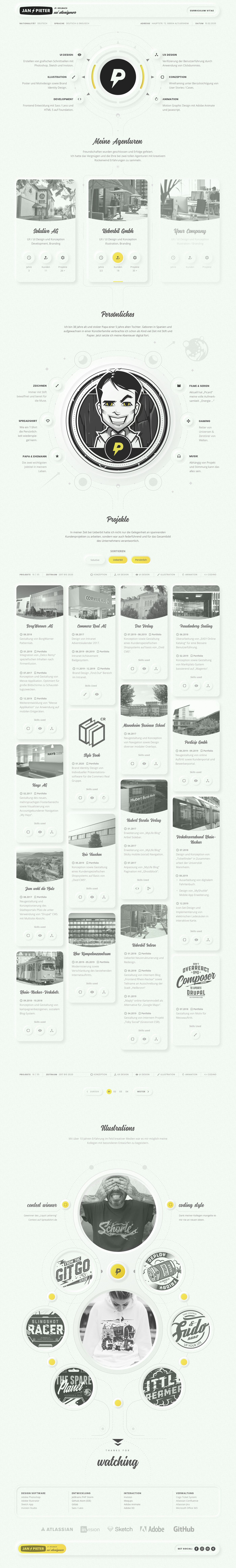 Pin On Creative Resumes Personal Branding