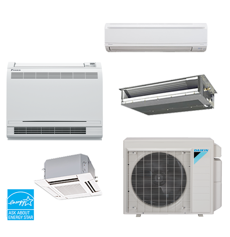 Ductless Heating And Air Residential HVAC Air