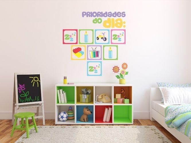 Ideia de decoração para quarto infantil.