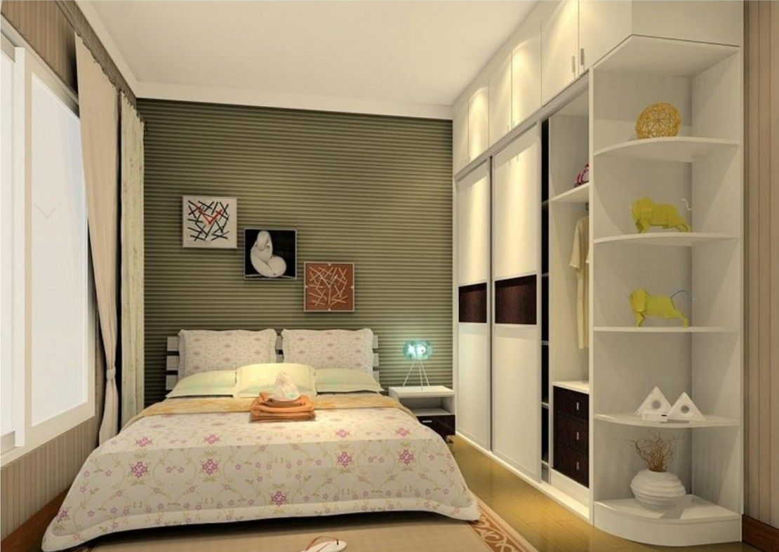 Bedroom chic built in wardrobe closet ideas with open for Bedroom ideas with built in wardrobes