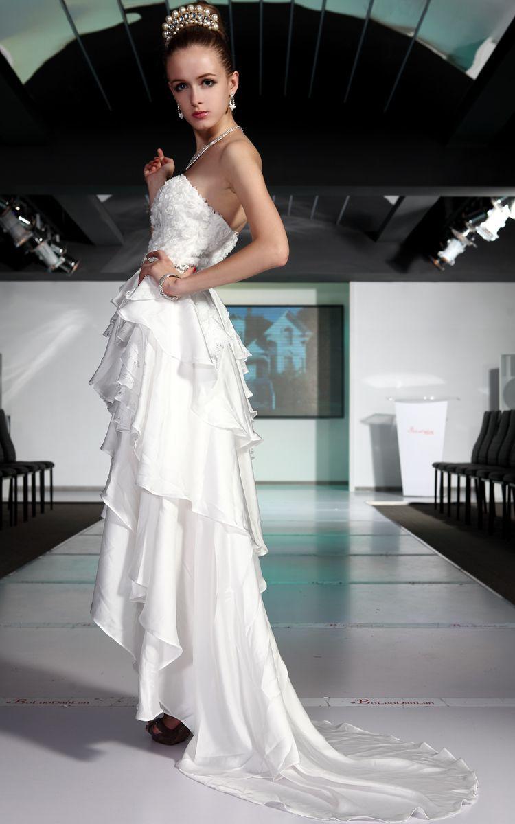 Side show white prom dresses i love pinterest