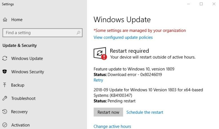 Windows 10 Version 1903 Failed to install? Here how to get