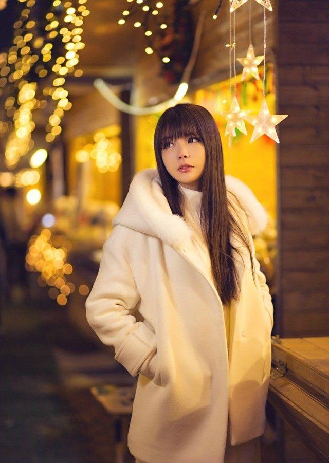 糖糖公主Rinrin冬日户外写真  #甜美# #写真# #公主范#