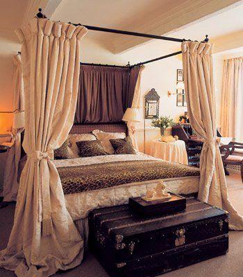 CAMAS CON DOSEL DE VARIOS ESTILOS via www.dormitorios.blogspot.com ...