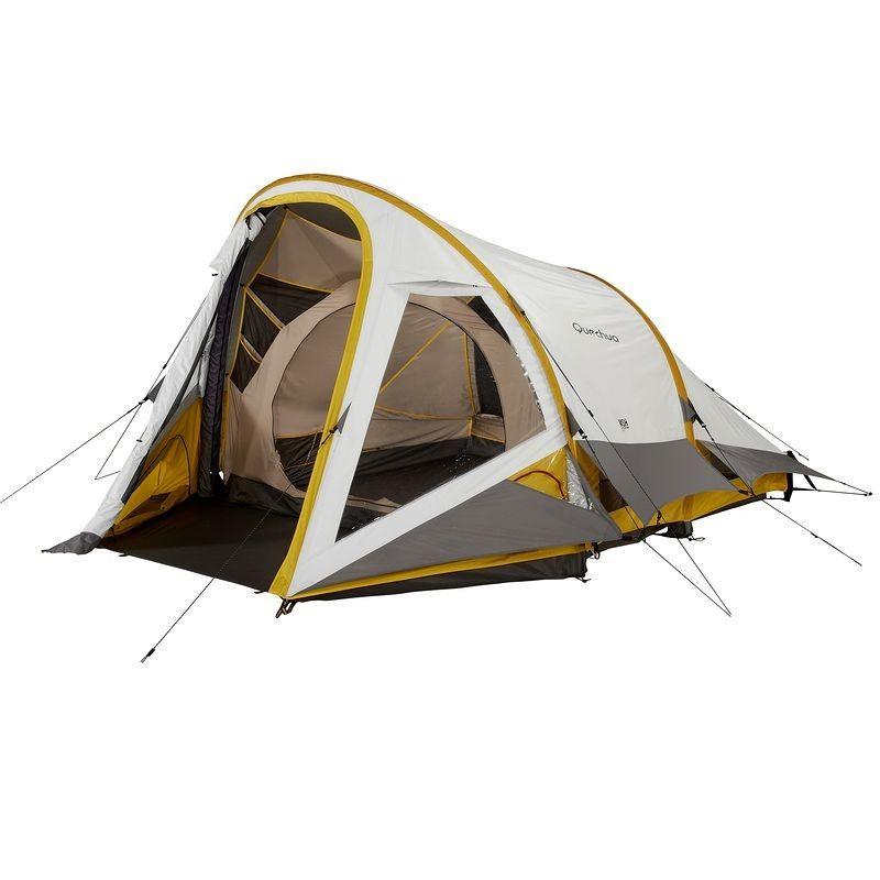 All Tents Camping - MSH ROOM 3 Illumin Fresh, Family Tent QUECHUA ...