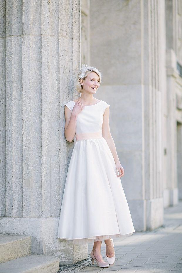 20 of the Most Vintage Tea-length Wedding Dresses for Older Bride ...