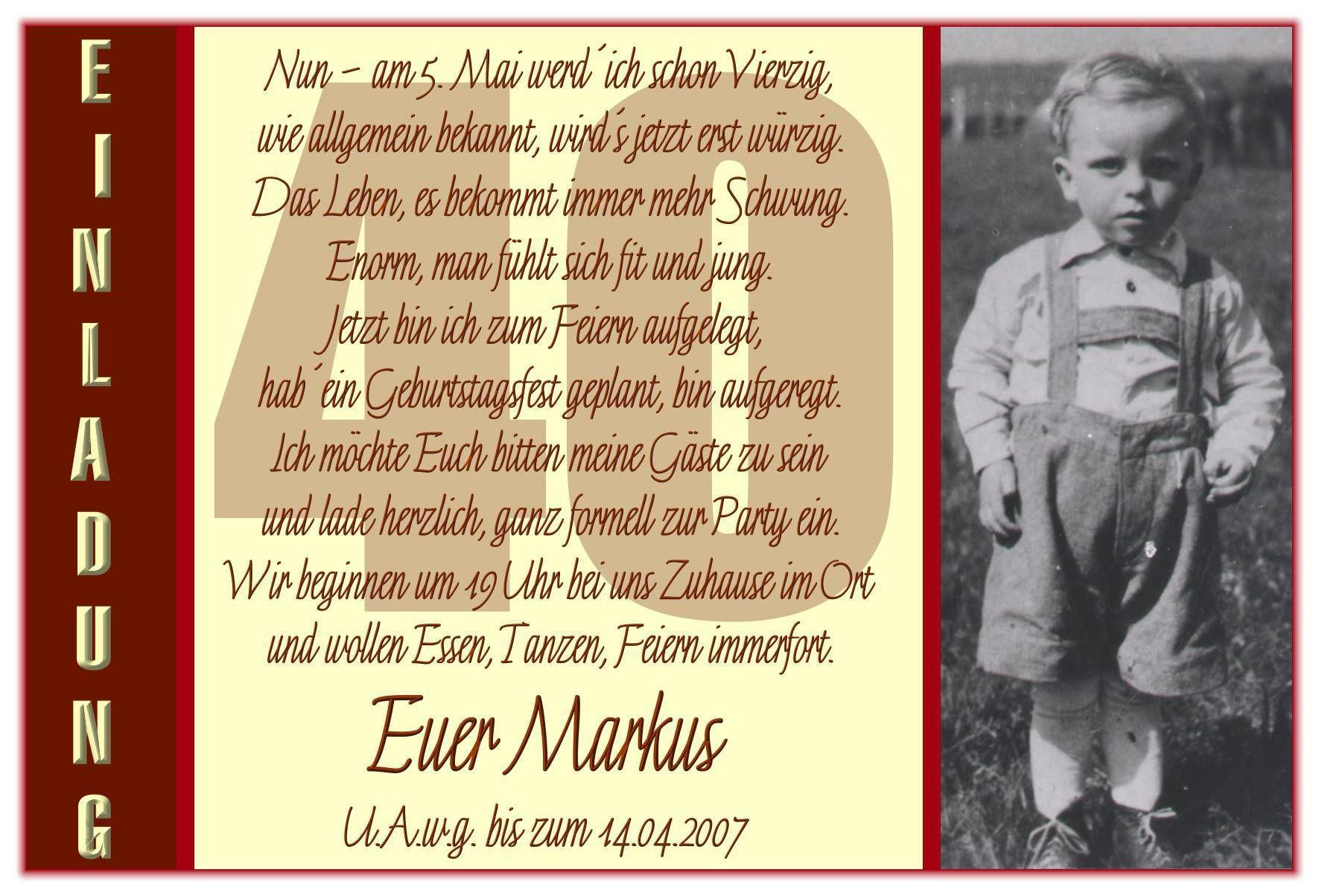 Einladungskarten 50. Geburtstag Vorlagen Word | Geburtstag Einladung ...