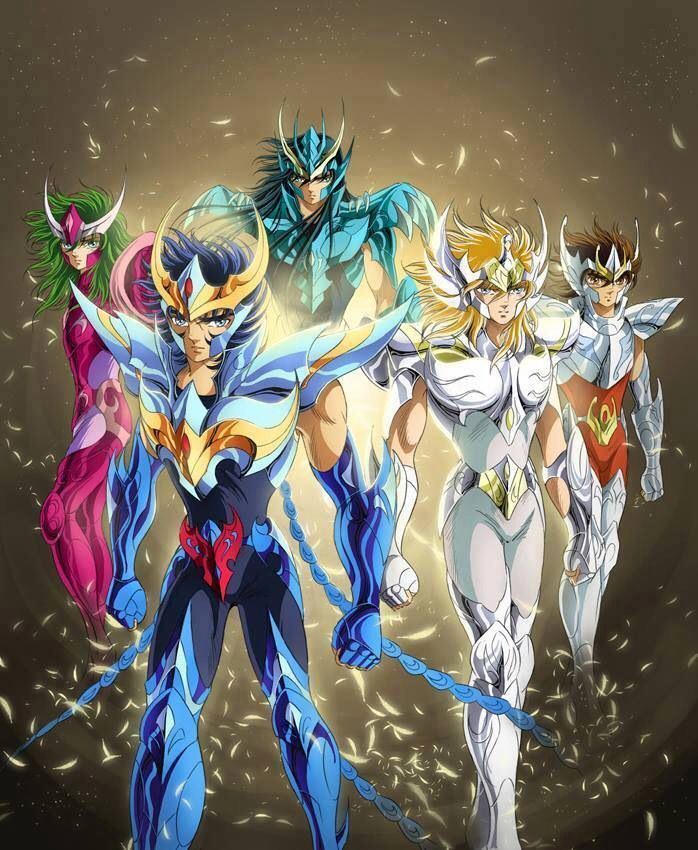 Les Chevaliers De Bronze Les Chevaliers Du Zodiaque Chevalier Du Zodiac Dessin Anime