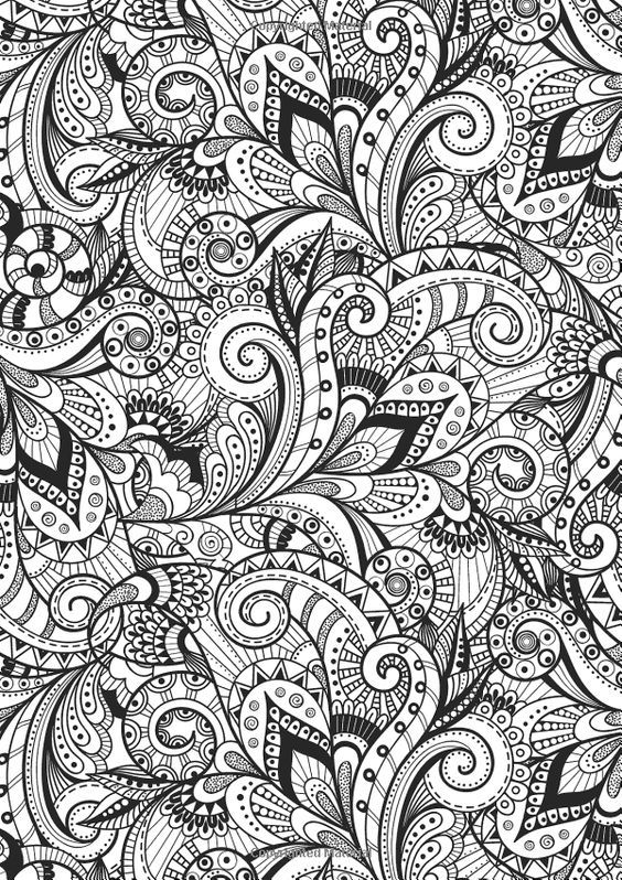 Coloriage Zen Color Stress Relief Coloriage Livre De