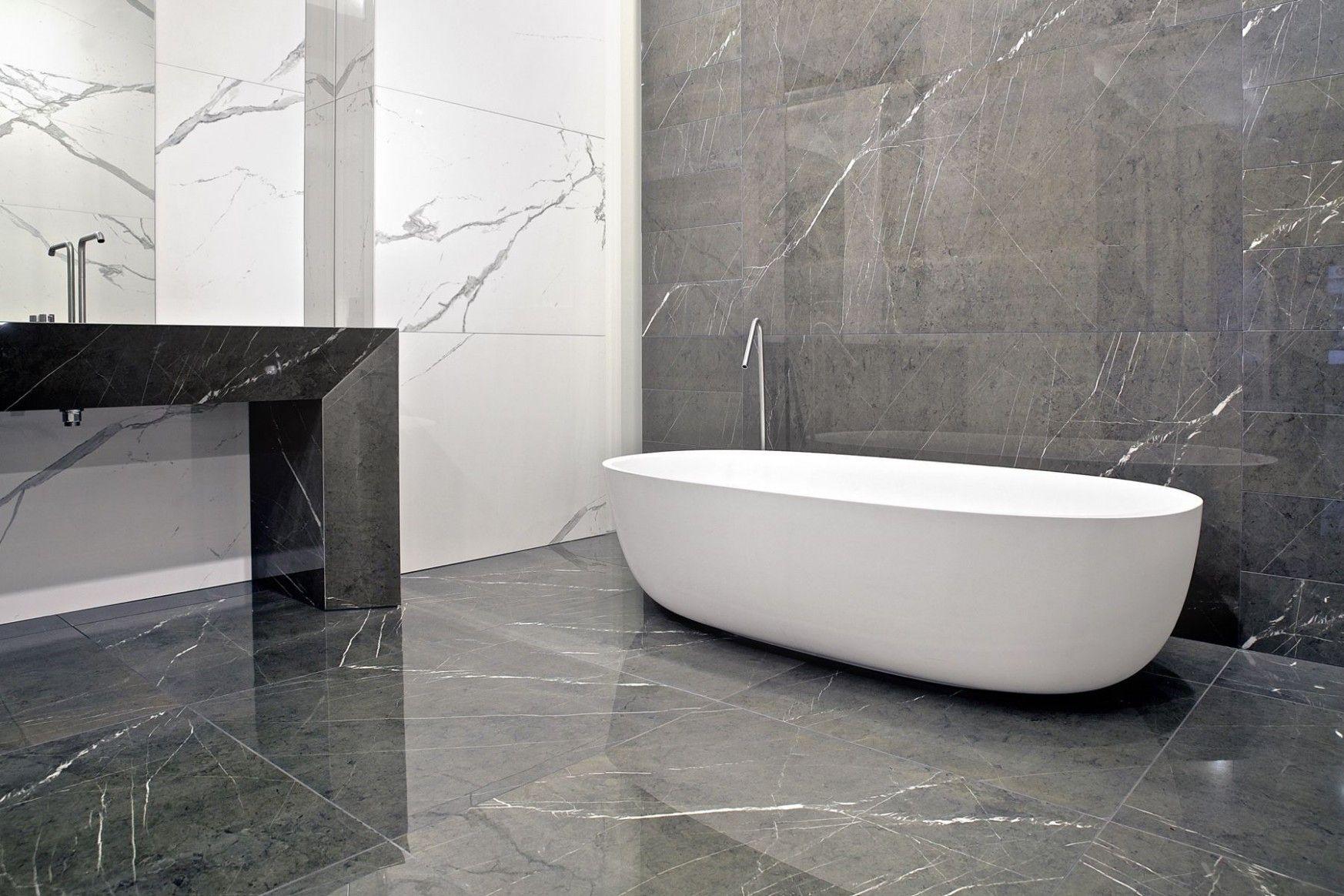 Grey Bathroom Floor And Wall Tiles Badrum Design Badrumsinspiration Design Gray bathroom floor tiles