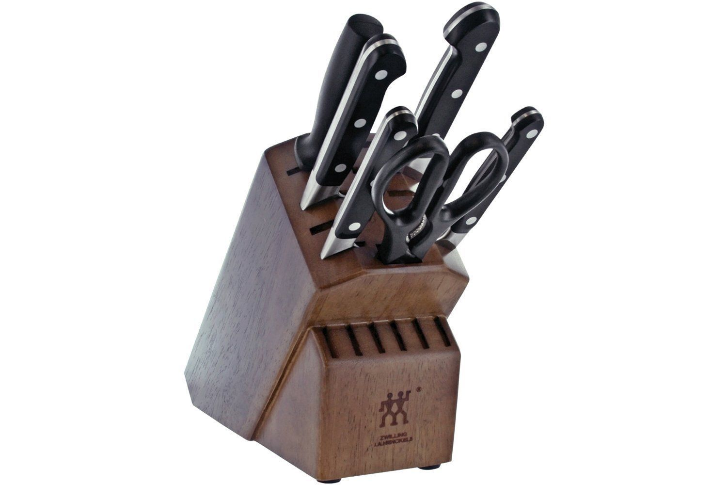 zwilling j a henckels pro 7 pc knife block set new 38445 000