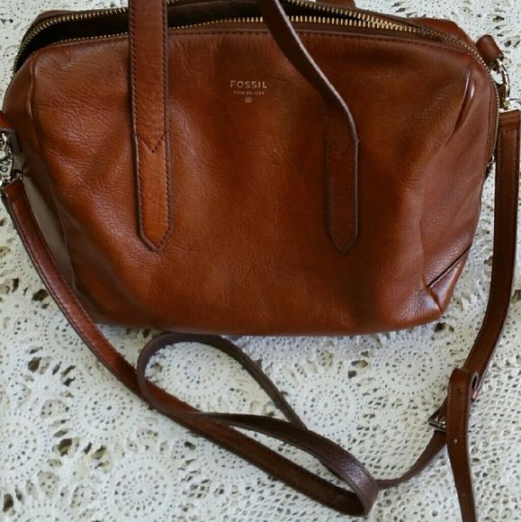 Fossil Sydney Satchel Used See Wear In Photos Needs A Good Cleaning It S