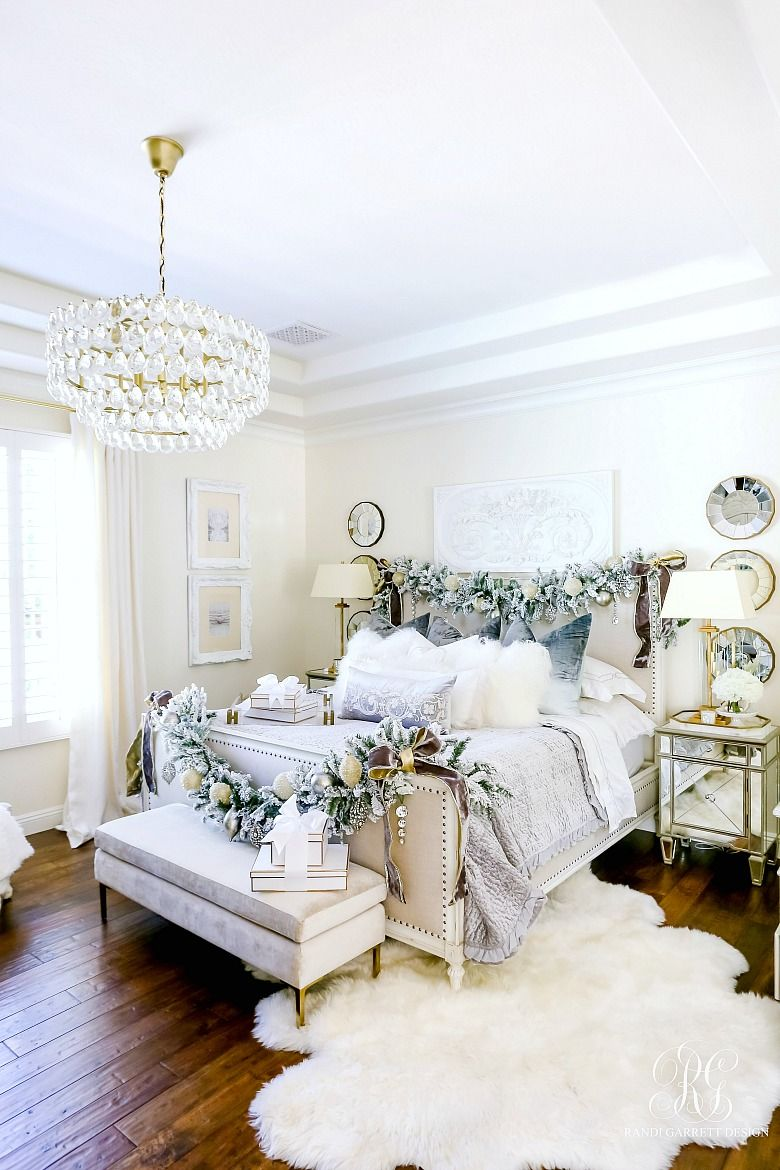 Best Elegant Christmas Bedroom Luxury Christmas Decor 400 x 300