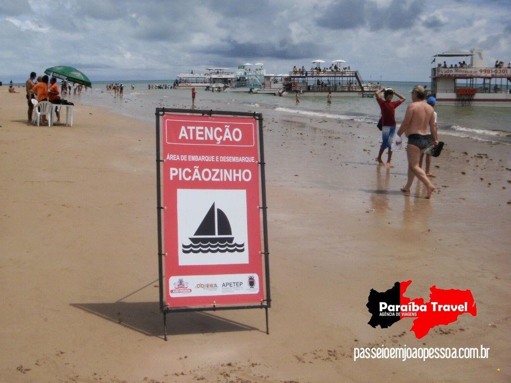 Roteiro do passeio para Picãozinho-passeio-de-catamar-turismo-em-joão-pessoa by Paraíba Travel Agência de Viagens, Turismo e Eventos via Slideshare