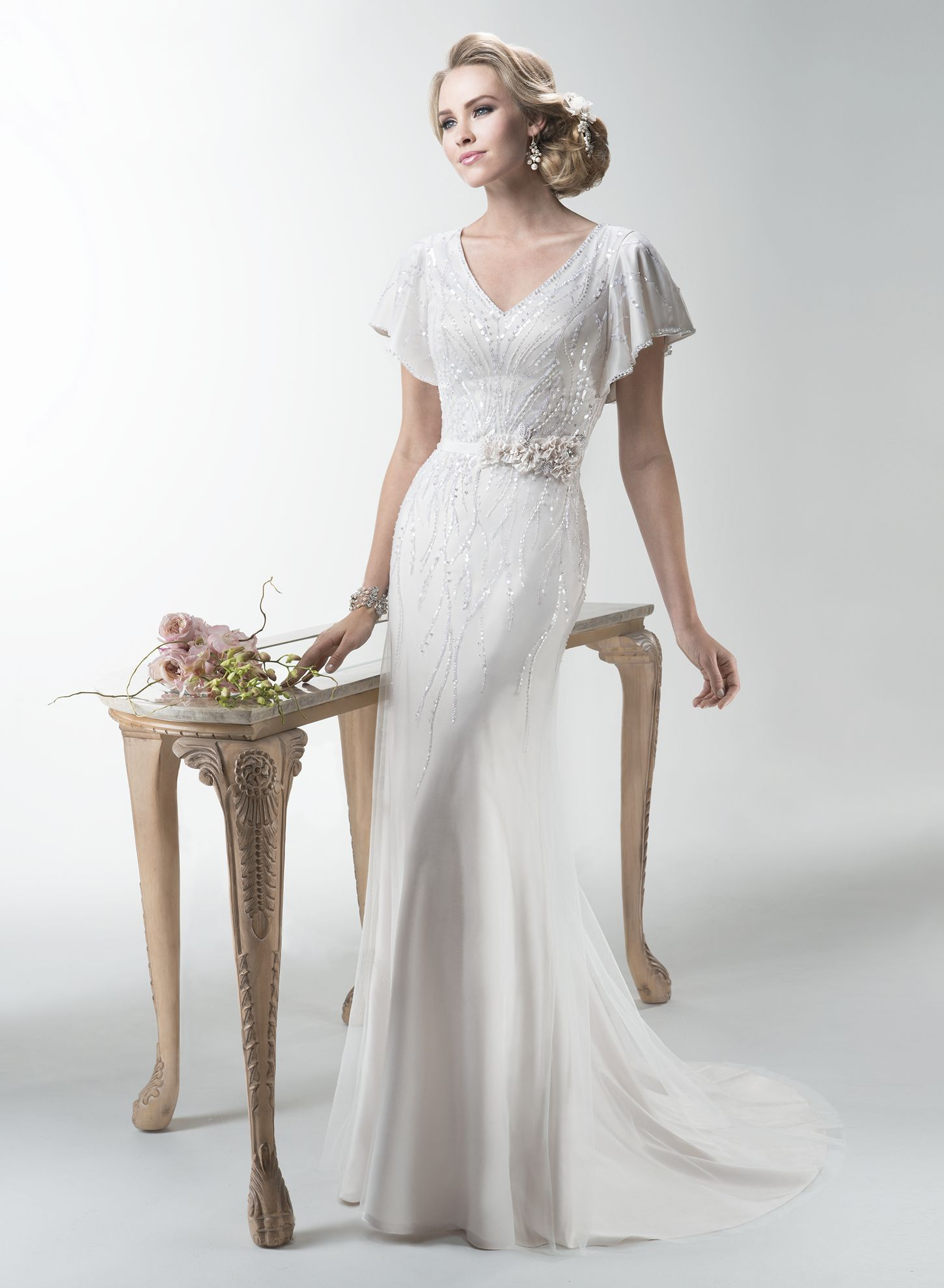 Silhouette wedding dresses simple bridal  Maggie Sottero Wedding Dresses  Maggie sottero Wedding dress and
