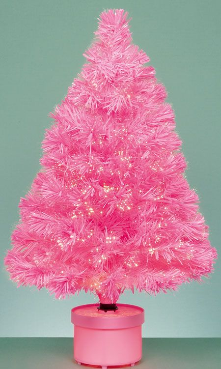 Mini Pink Christmas Tree for the princess! - Mini Pink Christmas Tree For The Princess! Hoildays Pink