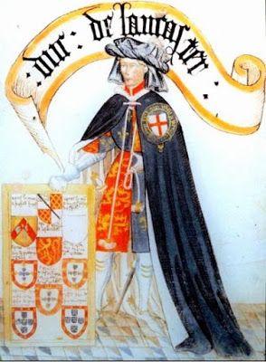 Henry of Grosmont, Earl of Derby, 1 Duke of Lancaster (1310-1361).- A partir de 1346, au début de la guerre de Cent Ans, le comte de Derby, anglais au service du roi Edouard III, parti de Bordeaux avec son armée de plus de 6000 hommes, s'emparait des villes d'Aulnay, de Surgères, de Benon, de St-jean-d'Angely en Saintonge avant de conquérir le Poitou. Son avancée effrayait tout le pays, se faisant sans grande résistance des places fortes.