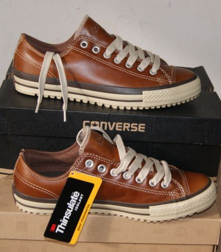 ac07b05cebb6 NEW-AUTHENTIC-CONVERSE-ALL-STAR-CHUCK-TAYLOR-LEATHER-BOOT-OX-MENS-10 ...