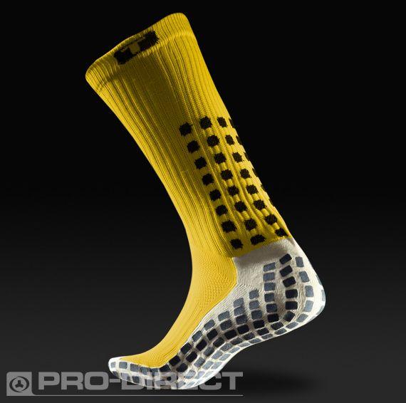 16564e1e729a Trusox Mid-Calf Thin Crew Socks - Yellow Black