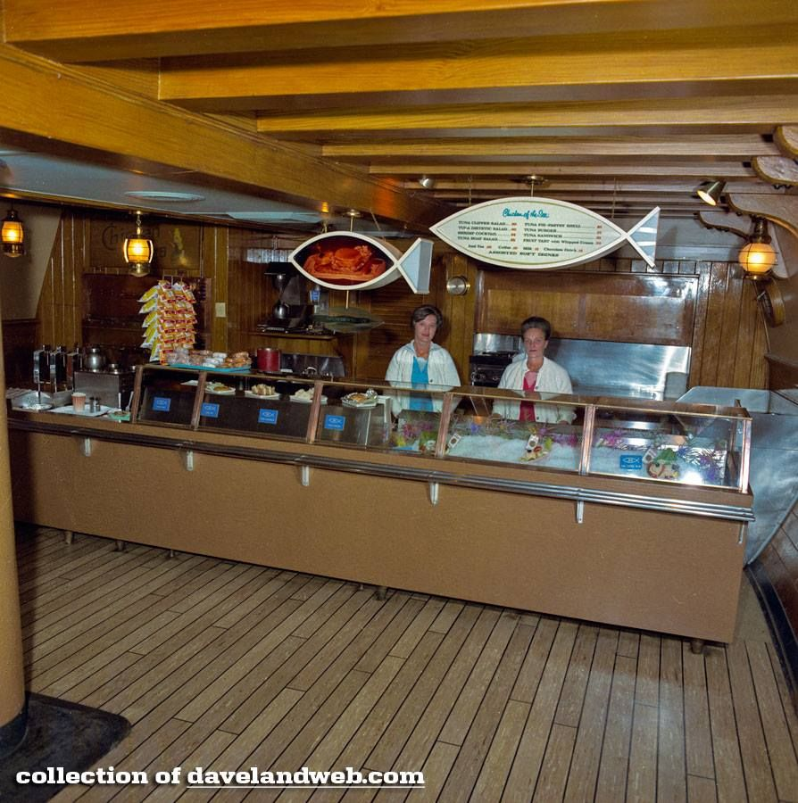 Inside the Chicken of the Sea Pirate Ship. I've always wondered what the ship looked like inside! #Disneyland